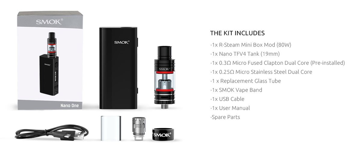 Cigarro Eletrônico Nano One - Smok