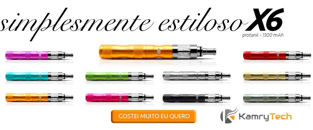 Cigarro Eletrônico Kit X6 Protank