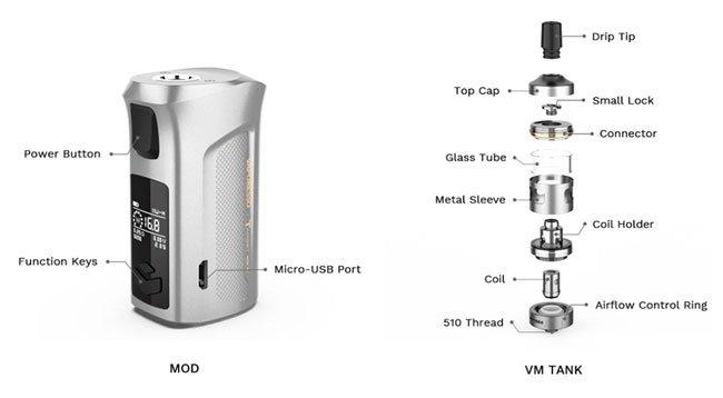 Kit Target Mini 2- Vaporesso