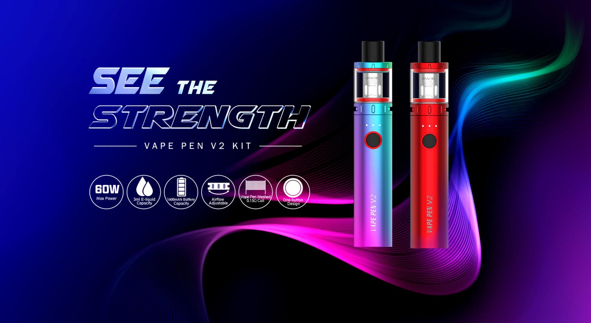 KIT VAPE PEN 22 V2 1600MAH - SMOK