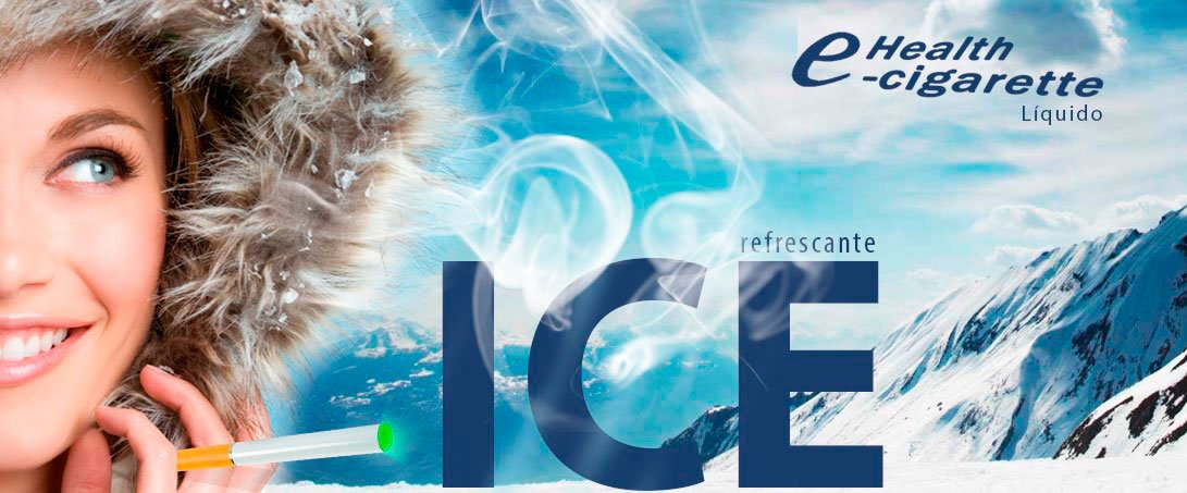 Líquido Cigarro Eletrônico Ice e-Health