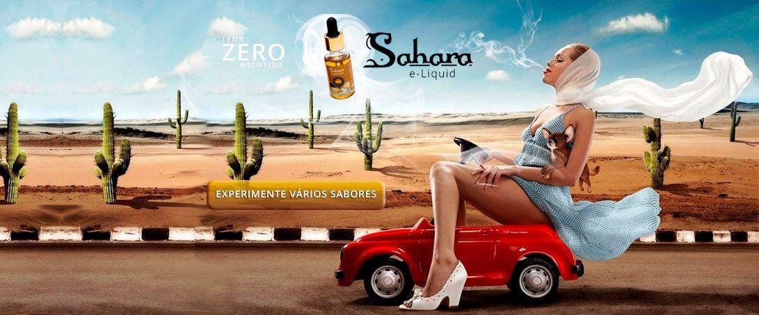 Líquido Cigarro Eletrônico Sahara e-Buzz