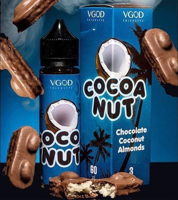 Líquido Cigarro Eletrônico Cocoa Nut