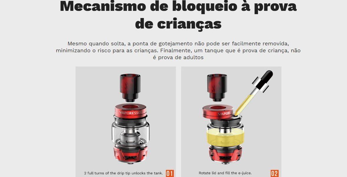 Kit Luxe 220W TC com tanque SKRR