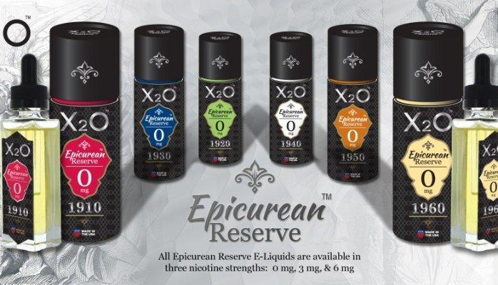 Líquido X2O Epicurean Reserve