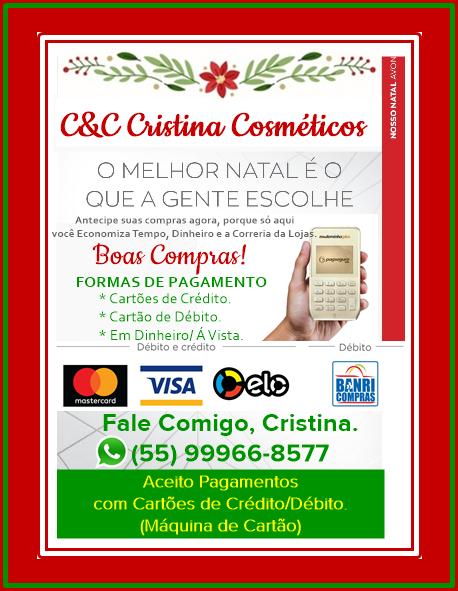 Contatos Cristina Avon