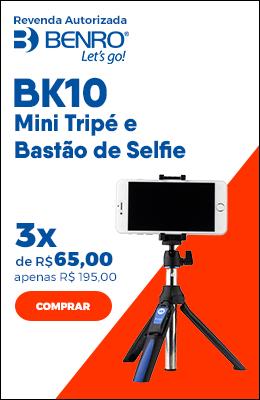Benro BK10 Mini Tripé e Bastão de Selfie Para Smartphones