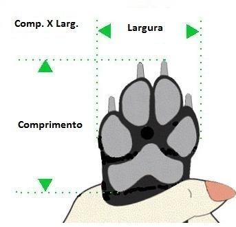 Como medir as patas
