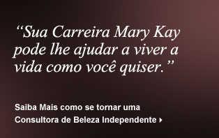 Sua carreira Mary Kay