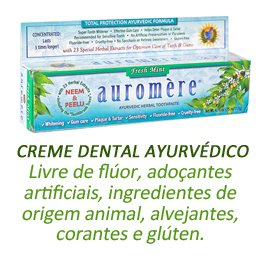 Creme dental auromere