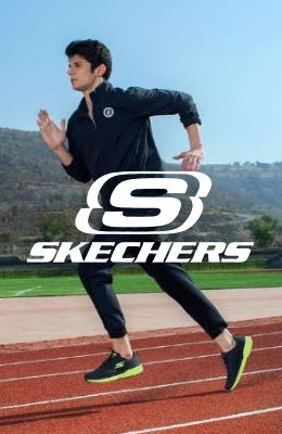 Skechers banner lateral