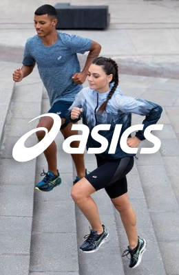 Asics Banner lateral