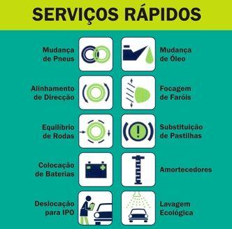 SERVIÇOS EXPRESS / RÁPIDOS