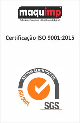 ISO 9001 Maquimp