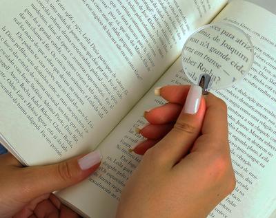 Lupa de leitura