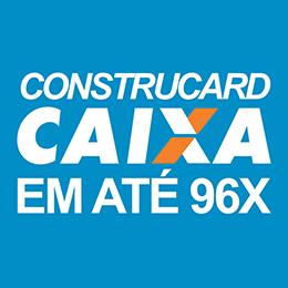 Parcele suas compras com Construcard em até 96X