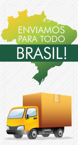 Enviamos para todo Brasil