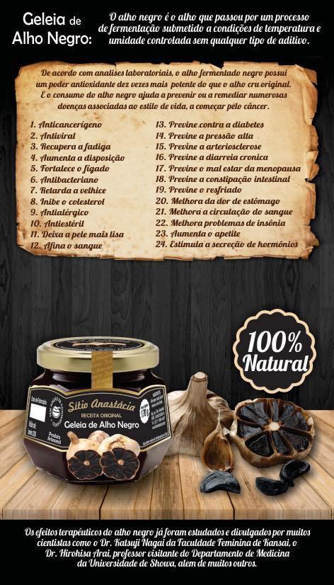 Benefícios do Alho Negro