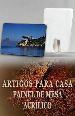 Painel de Mesa em Acrílico