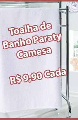 Promoção Toalha Banho Paraty Camesa