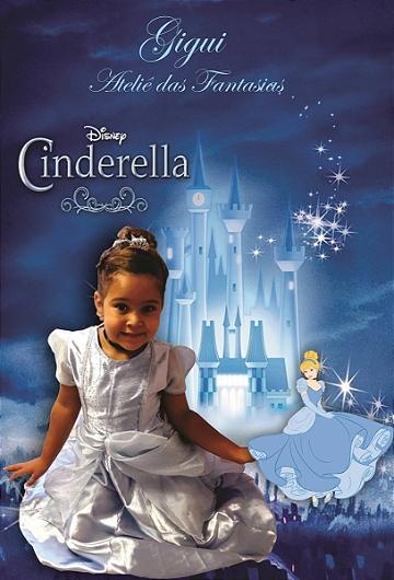 Vestido Cinderella Luxo