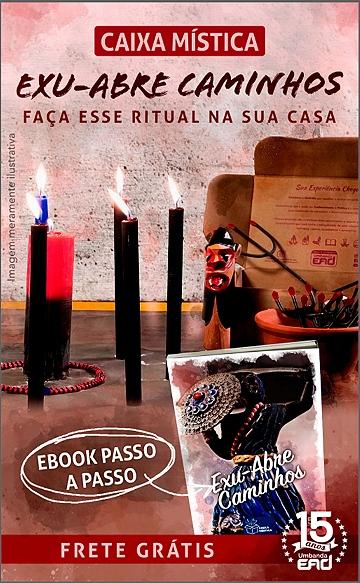 CAIXA MÍSTICA EXU - ABRE CAMINHO LATERAL