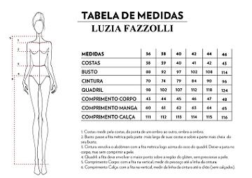 Medidas Luzia Fazzolli
