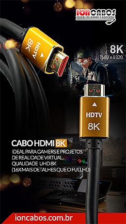 Cabo HDMI 8K