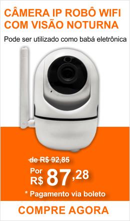 Camera IP Robô