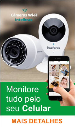 Camera Ip Intelbras Mibo Wifi Hd 720p Micro Sd Wdr P2P