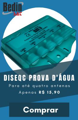 Chave Diseqc 4x1 Bedin Prova D'Água