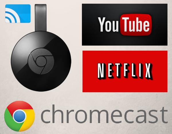 Novo Google Chromecast