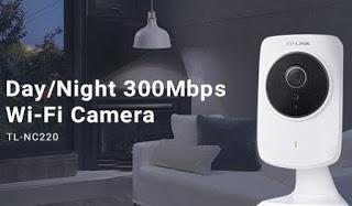 Cameras de vídeo IP WiFi TP-Link NC220 e NC250