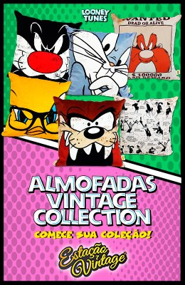 Almofadas Looney Tunes