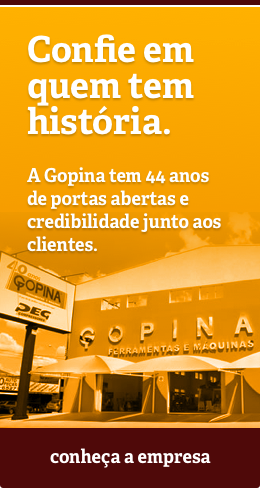 Historia da Gopina - Conheça e confie