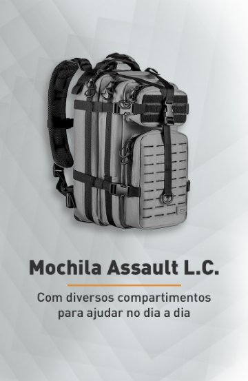 Banner - Mochila Assault L.C. - Invictus