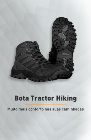 Banner - Bota Tractor Hiking - Invictus