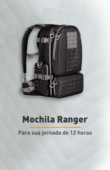 Banner - Mochila Ranger - Invictus