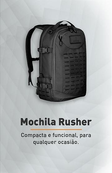 Banner - Mochila Tática Rusher - Invictus