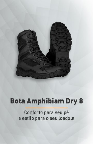 Banner - Bota Amphibiam Dry 8 - Invictus