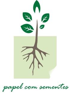 papel semente - brindes ecologicos