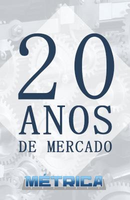 20 anos de mercado