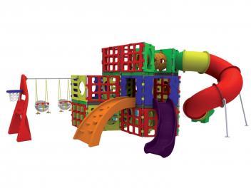 Escorregador Playground Modular Future - Xalingo