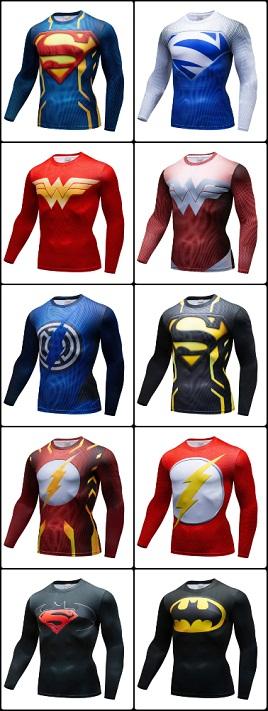 Camisetas Herois Manga Longa