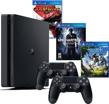 PS4 com 500gb + 3 Jogos