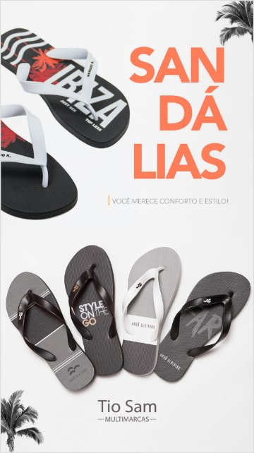 Banner Lateral - Chinelo