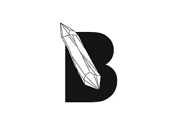 B encravado cristal