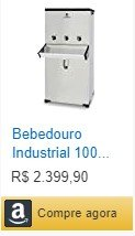 Bebedouro Industrial 100 lts