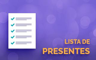 Lista de Presentes - Lateral