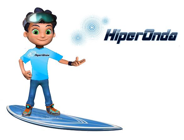 Surfistinha Hiperonda lateral
